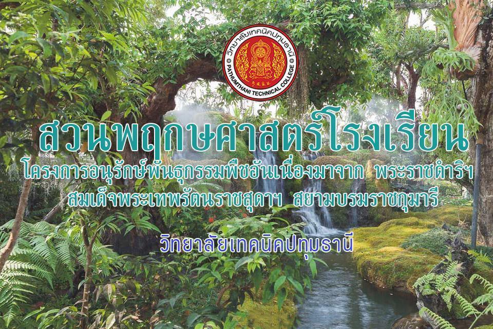 โครงการอนุรักษ์พันธุกรรมพืชอันเนื่องมาจาก พระราชดำริฯ สมเด็จพระเทพรัตนราชสุดาฯ สยามบรมราชกุมารี