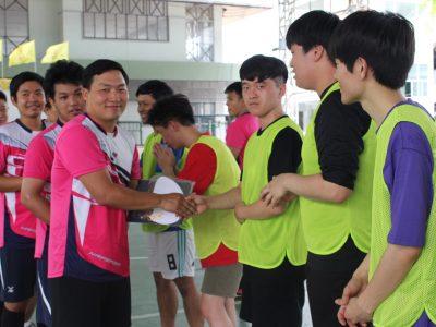 "<i class=""far fa-edit""></i> การแข่งขันฟุตบอลกระชับมิตร 2562"